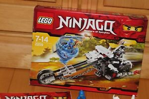 Lego Ninjago - Skelett Chopper Jay Ninja des Blitzes Skelett Set 2259 in OVP