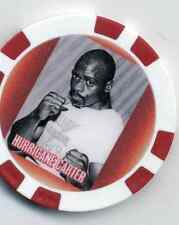 RUBIN CARTER  FIGHT COLLECTOR  CHIP