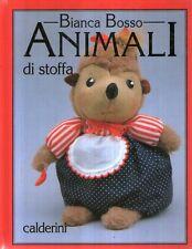 F11 Animali di stoffa Bosso Calderini 1995
