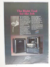 retro magazine advert 1986 PEAVEY kb series