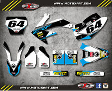 Honda CRF 450 - 2005 2006 2007 Full Custom Graphic Kit EURO Style sticker kit