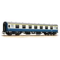 Bachmann 39-150D OO Gauge BR Blue/Grey Mk1 1st Corridor Coach