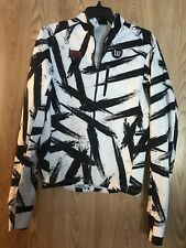 Wattie Ink Triple Threat Jacket Black and White Collection Mens S fits like W M