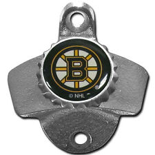 Boston Bruins Wall Mount Bottle Opener Zinc Aluminum Alloy NHL NEW!!