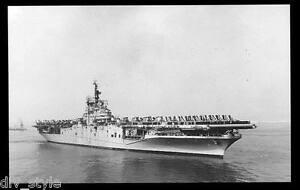 USS Boxer CVA-21  postcard US Navy ship aircraft carrier