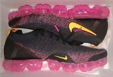Nike Air Vapormax Flyknit 2 Gridiron/Laser Orange 942842-008 Men's Size 12