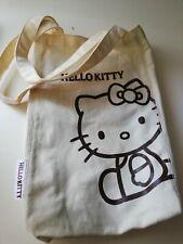 HELLO KITTY BORSA ORIGINALE SANRIO A SOFFIETTO H.CM.35 COTONE BAGS FASHION JAPAN
