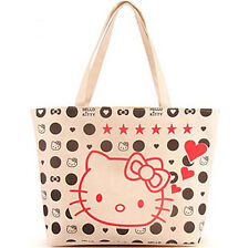New Hellokitty Canvas Bag Shopping / Tote Bag Purse aa1288w16