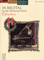 In Recital for the Advancing Pianist, Christmas - Piano Songbook FJH1777