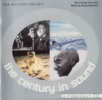 -The Century in Sound - THE BRITISH LIBRARY CD   New