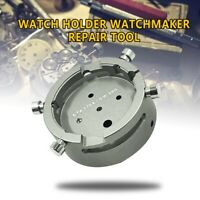 Metal Watch Holder Watchmaker Repair Tool For ETA 7750 7751 7753 Movement