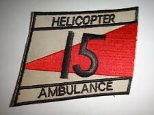 Korea War (1950-53) Patch Us 15th Helicopter Ambulance Medical Battalion