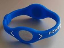 Power Balance Armband mit zwei Hologrammen in Blau Gr. M (19,0 cm) Neu