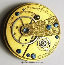 James spittall Whitehaven brevetto LEVA FUSEE INGLESE P/Movimento Orologio sparestt 45