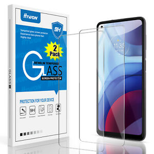 For Motorola Moto G Power/G Play/G Stylus (2021) Tempered Glass Screen Protector