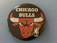 Vintage 1969 Chicago Bulls, NBA Illinois Basketball Pinback Button Pin