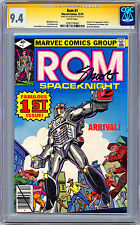 ROM #1 CGC-SS 9.4 SAL BUSCEMA CVR FRANK MILLER ART SIG EDITOR JIM SHOOTER 1979