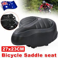 Large Bum Bike Bicycle GEL Cycling Sprung Saddle Seat Unisex Comfortable Soft AU
