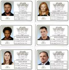 CSI Series 2 Full Six Card ID Badge Chase Set from Strictly Ink