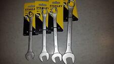 Lot de 4 clés mixtes Maxidrive STANLEY - 14 / 16 / 17 / 21 mm *NEUF*