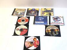 Lot of 9 Guinness Grolier Encarta Medical Encyclopedia Webster's CD-Rom PC 95 98