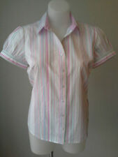 Tommy Hilfiger Cotton Blend Striped Tops & Blouses for Women