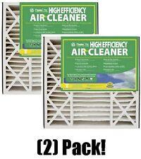 """(2) ea Flanders  82655.052025 20"""" X 25"""" X 5"""" High Efficiency Furnace Air Filters"""