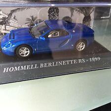 1:43 IXO RARE HOMMEL BERLINETTE RS 1999 BLEUE