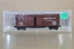 MICRO TRAINS MTL 41020 N GAUGE LEHIGH VALLEY LV 40' WOOD BOX CAR 79003 nz