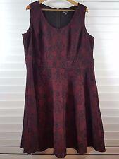 CITY CHIC sz XL (or 20  ) womens Sleeveless Lace dress [#3089]