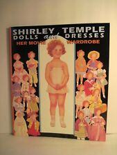 Shirley Temple Dolls And Dresses Paper Dolls