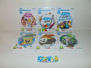 THQ uDraw U Draw Tablet Games   Nintendo Wii Wii U   PAL