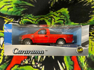 Cararama Ford F150 XLT 1/43 Scale Red Pickup Truck