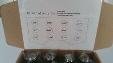New ER20 Super Precision 12 PCS ER-20 Collets Set With 5/32, 9/32, 13/32 US