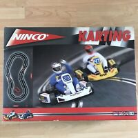 Ninco 20110 Karting 100% COMPLETE Go Kart Tracks Set Slot Cars Tested & Working