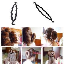 Mode femme Crochet disque périphérique Fashion cheveux baguette pratiqué 3PCS
