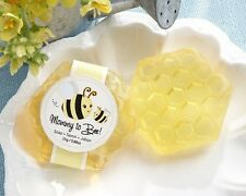 """25 """"Mommy To Bee"""" Honey-Scented Honeycomb Soap Baby Shower Favors"""