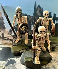 Large Diorama / Statuette of Undead Skeleton Warriors.