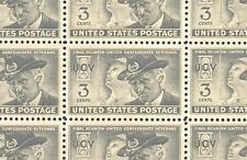 1951 - CONFEDERATE VETERANS -#998 Full Mint -MNH- Sheet of 50 Postage Stamps