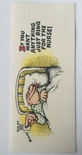 1968 Get Well Card By Robert Crumb Published By American Greetings