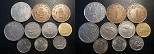 Malte - République - lot de x10 monnaies de 1972 à 1998