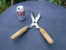Small Vintage Garden Hedge Cutting Topiary Shears 14.5 inches in length