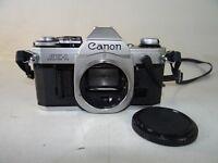 Spiegelreflexkamera Canon AE1 nur Body plus Canon Data Back A geprüft (2423)