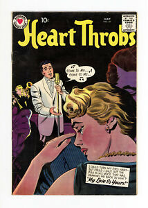 HEART THROBS #59 - GREAT COVER - VERY RARE: ONLY 2 on CGC - 1959 DC