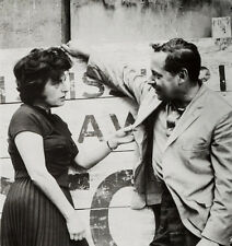 Tennessee Williams UNSIGNED photograph - L2070 - With Anna Magnani
