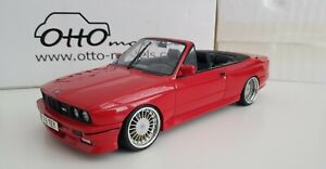 1:18 otto models BMW E30 M3 CONVERTIBLE VERY RARE & BOXED CUSTOM ALPINA 519/2500