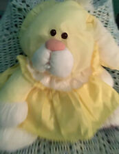 Vintage* Fisher Price Yellow Bunny Puffalumps€