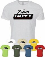Team Hoyt T-Shirt Archery Hunting Compound Bow Pro Hunter Archer Top Competition