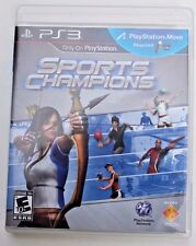 SPORTS CHAMPIONS (PlayStation 3, 2010; PS3) Requires PS Move - Guaranteed!!
