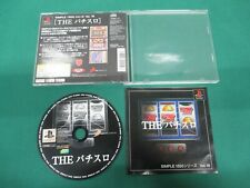 PlayStation -- THE Pachi-Slot SIMPLE 1500 -- PS1. JAPAN GAME. 25830